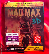 Mad Max: Fury Road 3D Steelbook - Ultimate Edition SteelBook Blu-Ray NEW