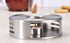 Edelstahl Stövchen Teelichthalter Kaffeewärmer Tee-Kaffee-Wärmer Warmhalteplatte