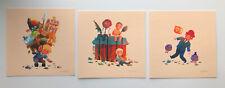 Olly Moss GOTY Rare Ltd Edition Prints X3 Zelda Mario PUBG Mondo Artist