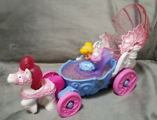 Little People Disney Princess Cinderella's Light & Sounds Coach Wedding