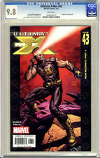 ULTIMATE X-MEN #43 FIRST PRINTING WHITE PAGES CGC 9.8 NM/MT UNSCRATCHED