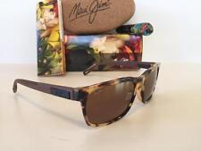 New Maui Jim EH BRAH Polarized Sunglasses Tortoise/Bronze Glass 284-10L SRP $319