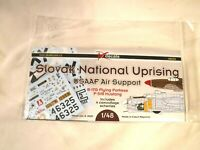 1/48 DK Decals Waterslide Slovak Nat Uprising USAAF Support B 17G & P 51B #48036