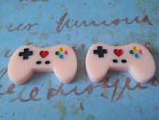 Pink Game Pad Controller Stud Earrings, Free Gift Wrapping, Sweet, Kawaii, Gamer