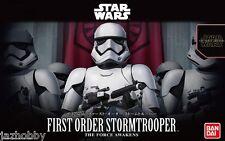 Bandai 1/12 Model Kit New Star Wars The Force Awakens First Order Storm Trooper