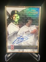 2020 Topps Gold Label  Rafael Devers Auto 14/15! Gold Frame