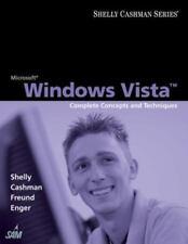MICROSOFT WINDOWS VISTA - Complete Concepts and Techniques Sam 2007 Compatible P