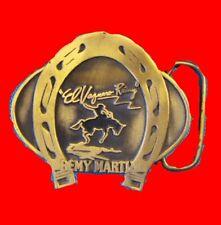 Remy Martin Cognac Liquor LVMH Belt Buckle Gift Lucky Horseshoe Cowboy Rodeo XO