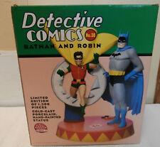 BATMAN & ROBIN DETECTIVE COMICS DC DIRECT LIMITED EDITION STATUE #274/1300 NIB W
