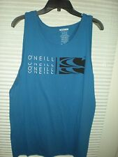 O'NEILL Mens Tank Top Sleeveless Premium Fit Shirt Blue LARGE New