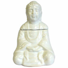 Ceramic Buddha Aromatherapy Oil Burner Buddah Ornament Wax Melt Tealight Holder