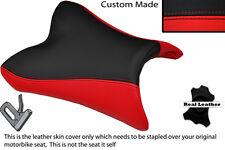 Rojo Y Negro Custom Fits Yamaha Fazer Fz8 800 10-13 Frontal Rider cubierta de asiento