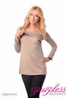 Maternity & Nursing Scoop Neck Tunic Breastfeeding Size 8 10 12 14 16 18 7021