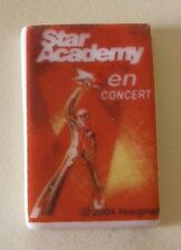 Fève Star Academy - Auchan 2005 - L' Affiche du Concert