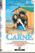 LA CARNE - Francesca Dellera (1991) - VHS Panarecord 1a Ed.