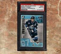 SIDNEY CROSBY Heroes Prospects UPDATE Rookie Card PSA 9