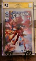 SUPERGIRL #17 ARTGERM VARIANT CGC SS 9.6 ARTGERM