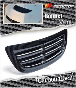 Carbon Fibre Bonnet Scoop Hood Air Vent Intake fits Mitsubishi Evolution EVO 8 9