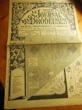 Le Journal des Brodeuses 1949 n°655 taie chemise de nuit corsage entre deux