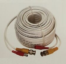 100ft Hd Camera Video Power Bnc Cctv Extension Cable for 2Mp 3Mp 4Mp 5Mp Camera