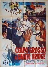 THAT MAN IN ISTANBUL ESTAMBUL Italian 2F movie poster 39x55 HORST BUCHHOLZ 1965