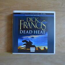 DICK FRANCIS: Dead Heat / Unabridged Audiobook /  10CDs