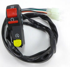 On/off starter Switch 4 Wire, 2 plugs for Dirt bikes, ATV, 7/8 in handlebar