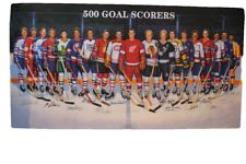 500 GOAL SCORERS SIGNED Reprints RARE Lithograph