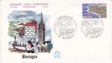 Enveloppe 1er jour FDC n°1010 - 1977 : Région La Bretagne