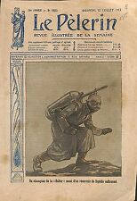 Feldgrau Deutsches Heer Lance-Flamme Flame thrower WWI 1915 ILLUSTRATION