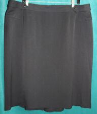 Women's Clothing Skirts Lane Bryant Designs Black Wool Pencil Skirt Size 20