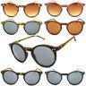 Vintage Keyhole Frame Round Lens Hipster Depp Style Sunglasses UV400 Mens Ladies