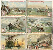 Chromo Liebig Sang. 545 ITA Caccia alla Balena ANNO 1898