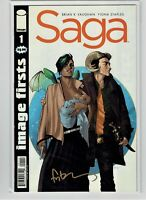 Saga #1 Image Firsts Fiona Staples Signed 2014