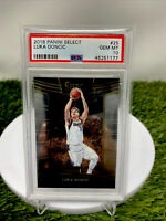 2018-19 Panini Select Concourse LUKA DONCIC rookie PSA 10 GEM MINT Free Shipping