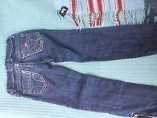 Girls blue denim jeans, Miss Sixty, style J Lot, age 8