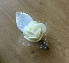 8 x Roses Pre Finished For DIY Wedding Lapel / Hat  / Crafts