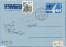 AD33 RAF Museum Air Letter Force Flown Flown in Champions Signed 5