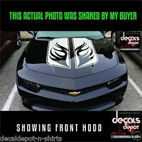 Universal Graphic Design Vinyl Decal for Hood and Rear for ANY CAR MODELS