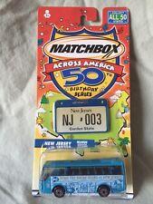 New 2001 Matchbox Across America 50th Birthday Series #3 New Jersey Ikarus coach