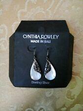 Cynthia Rowley Sterling Bali Earrings