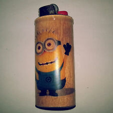 Minions BIC Lighter Case Holder Sleeve Cover
