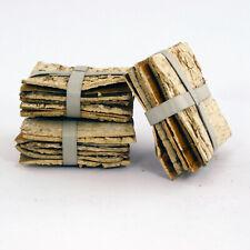10cm (4 inch) Square Birch Tree Bark Sheets Bundle of 7