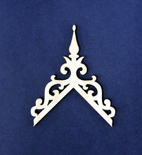 Dollhouse Miniature 1:12  Scale 14/12 Roof Pitch Finial Trim