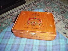 Vintage A. FUENTE SHORT STORY Wood Cigar 25 Cigar Display Box