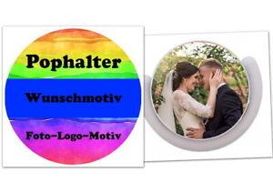 Smartphone Popsockel Pophalter Popholder - Mit eigenem Motiv, Logo, Text, Foto