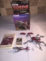 Tomy Super Zoids Scarab Boxed And Instructions