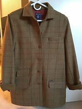Faconnable Women's 100% Wool Coat Button Front - Size S - EXTREMELY WELL MADE