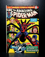 COMICS: Marvel: Amazing Spiderman #135 (1974), 2nd full Punisher app - RARE