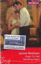 VIRGIN ON HER WEDDING NIGHT LYNNE GRAHAM 2010 MILLS & BOON SEXY ROMANCE